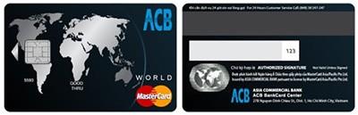 Làm thẻ tín dụng ACB