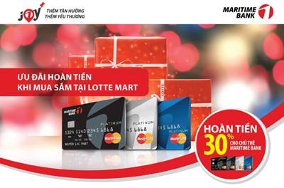 Hướng dẫn các chi tiết làm thẻ tín dụng Maritime Bank