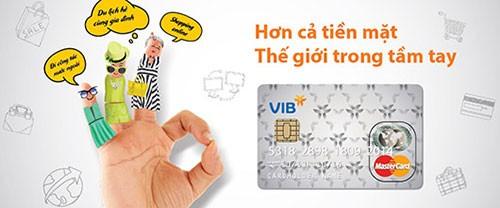 Điều kiện làm thẻ tín dụng VIB