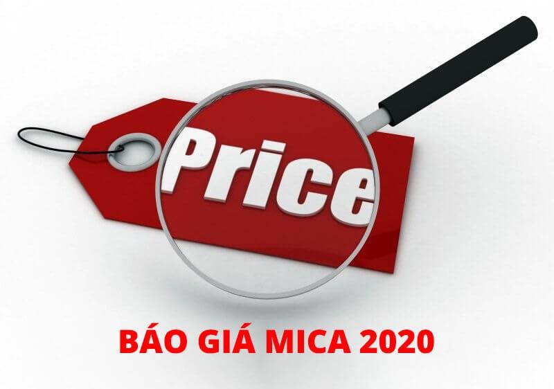 Bảng báo giá tấm Mica 2020