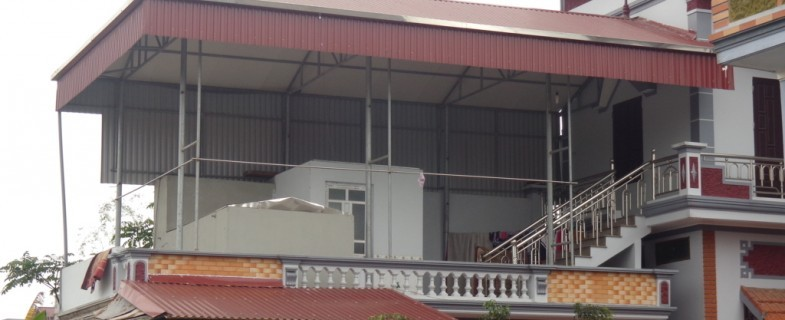 Cách tính độ dốc mái tôn nhà ở