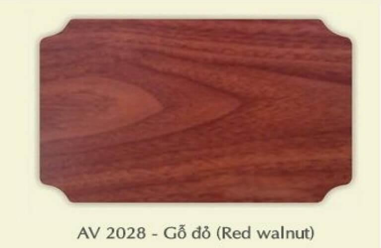 EV2028 alu vân gỗ đỏ