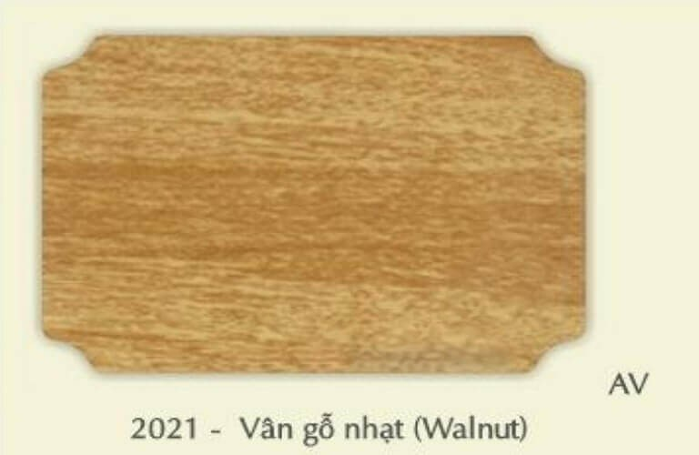 EV2021 alu vân gỗ nhạt