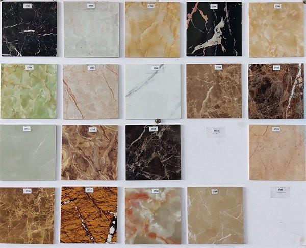 Bảng màu tấm nhựa PVC đá cẩm thạch