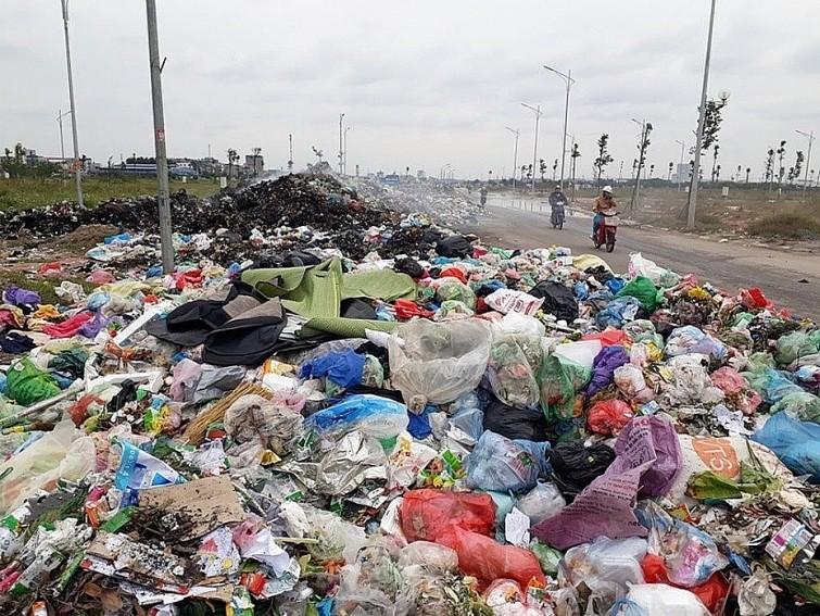 ảnh hưởng củachất thải rắnđến môi trường