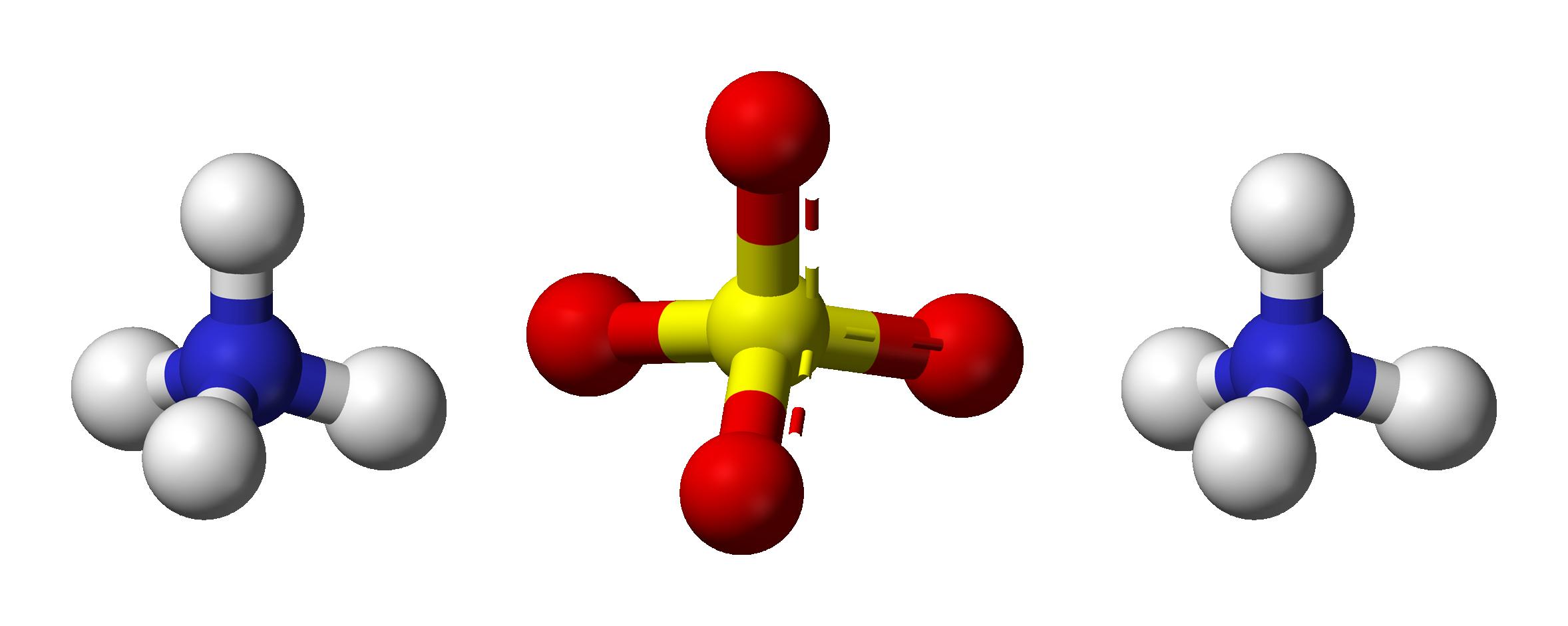 Cấu tạo phân tử Amoni sunphat