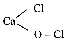 công thức hóa học của clorua vôi
