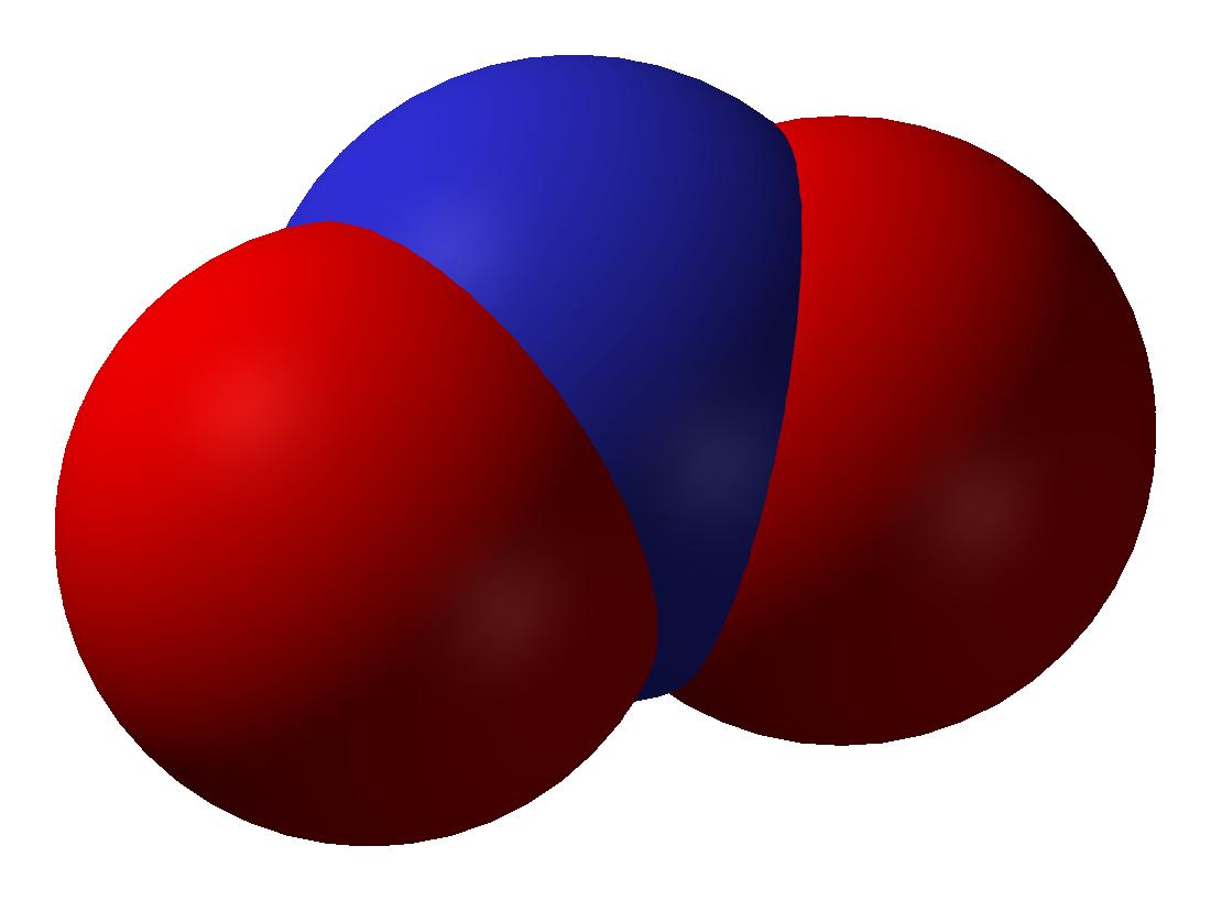 Cấu tạo phân tử của NO2
