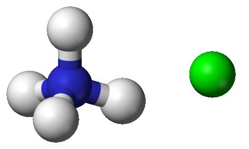 Phân tử NH4Cl