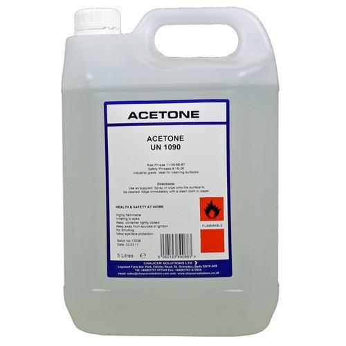Tính chất của acetone là gì?