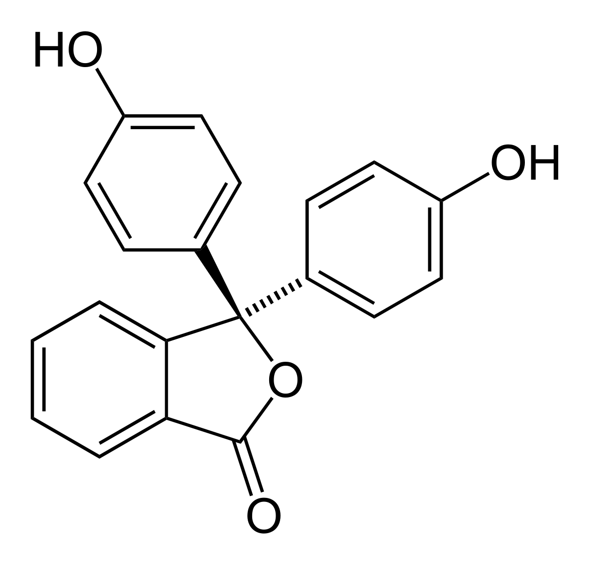 Công thức cấu tạo của Phenol