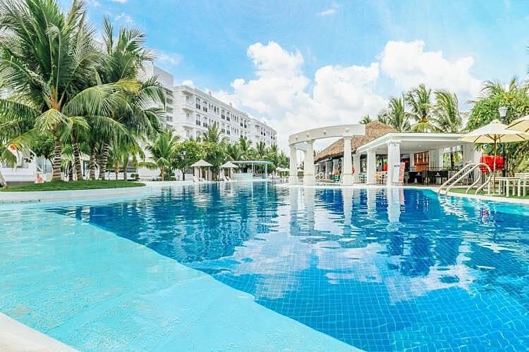 H2O2 dùng để xử lý nước bể bơi