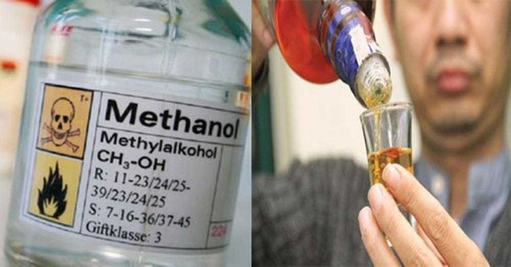 phương pháp điều chế rượu gây ngộ độc methanol