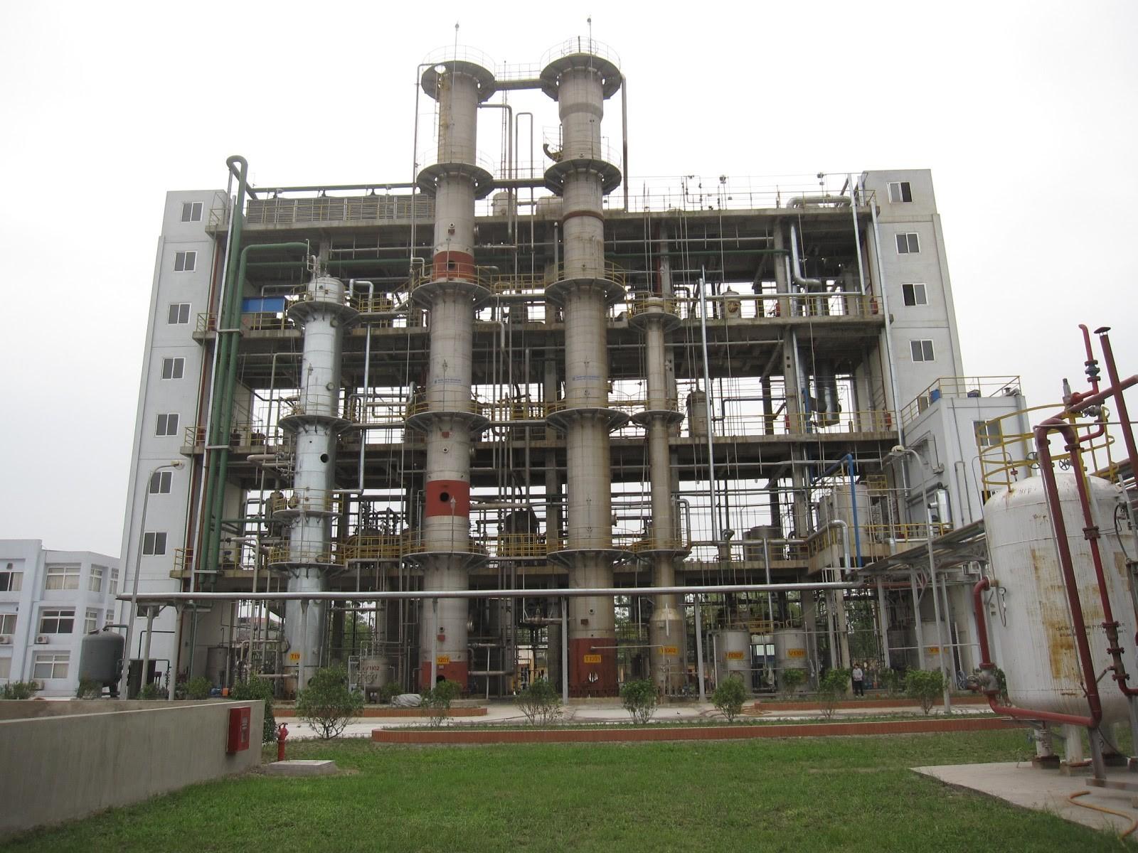 Nhà máy, dây chuyền sản xuất oxy già H2O2