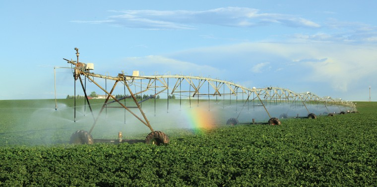 Nước ngầm được dùng cho tưới tiêu trong nông nghiệp