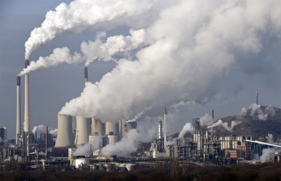 Ô nhiễm không khí do hoạt động sản xuất