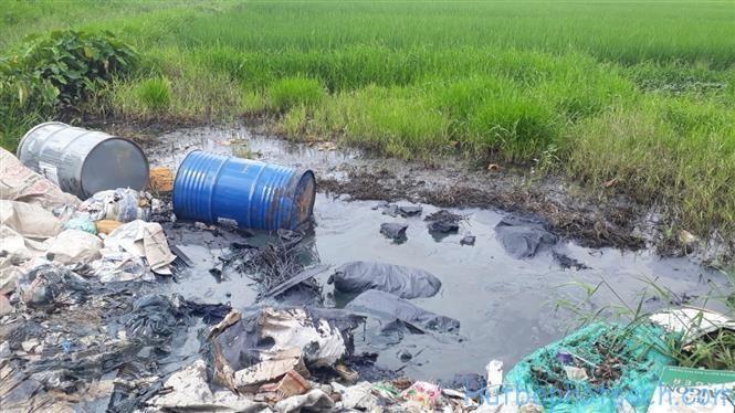 Thực trạng ô nhiễm môi trường đất hiện nay