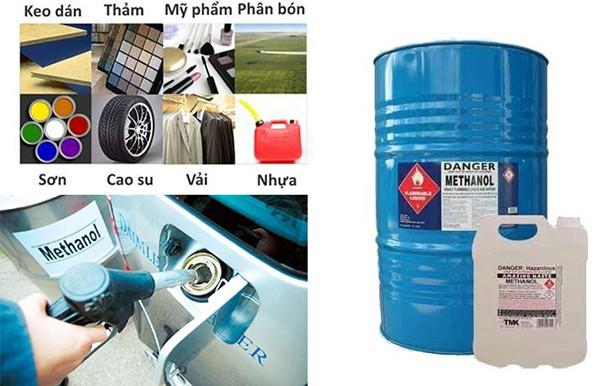 Ứng dụng của methanol công nghiệp
