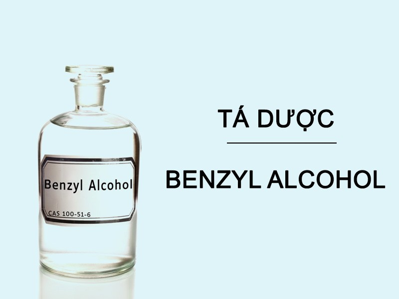 Benzy alcohol trong y tế