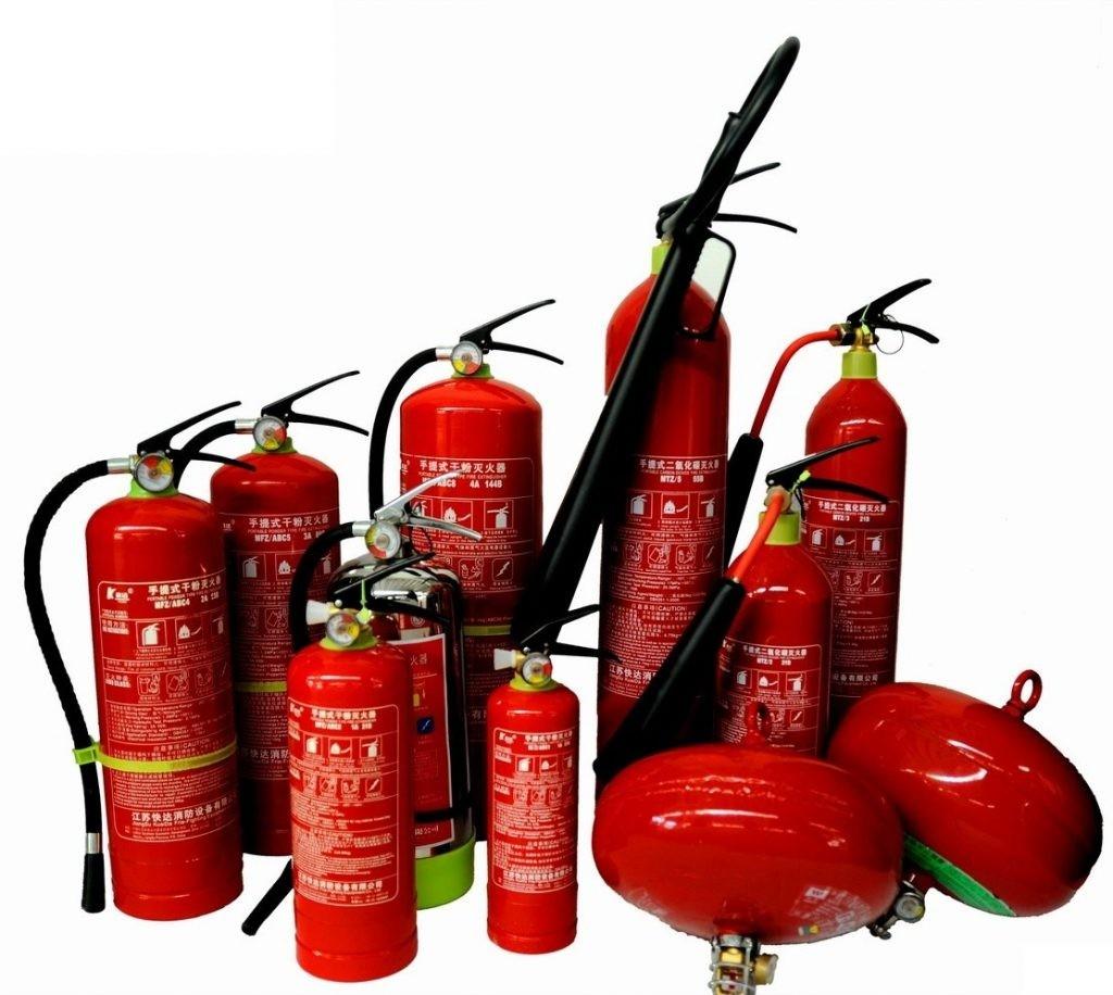 khí cfc làm bình cứu hỏa