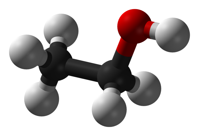Cấu tạo phan tử ethanol
