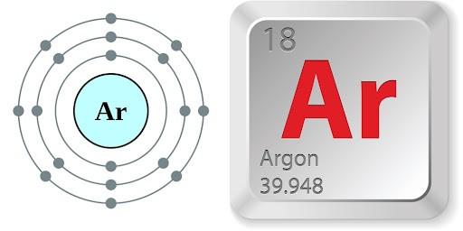 khí argon - Ar