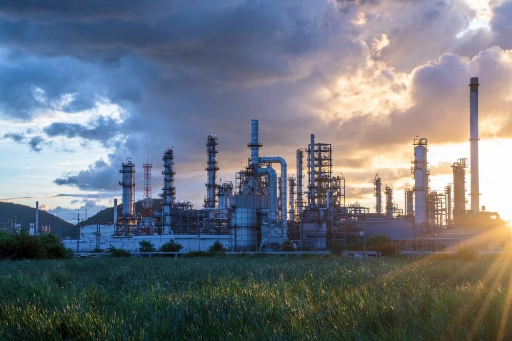 Khí thiên nhiên được lọc bỏ tạp chất tại nhà máy