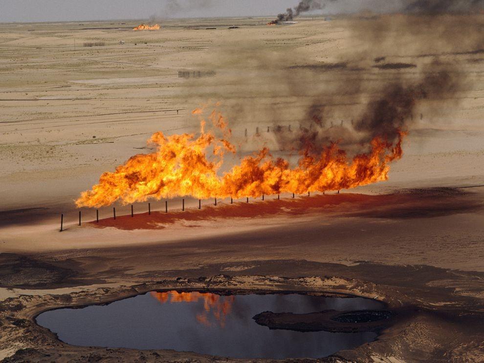 Quá trình khai thác khí và xử lý khí thiên nhiên