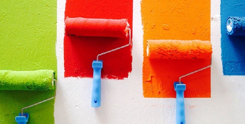 Màu sắc sau khi pha dung môi pha sơn