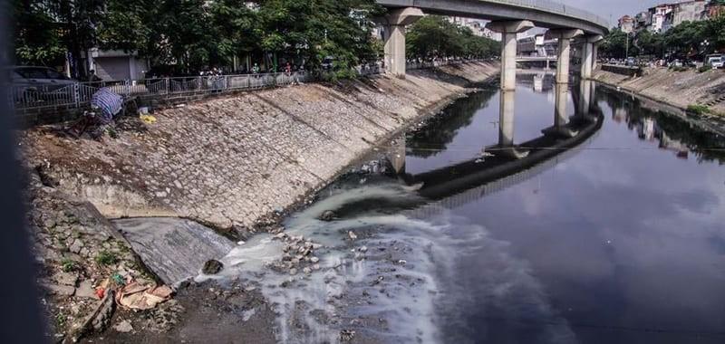 Thực trạng ô nhiễm nguồn nước mặt