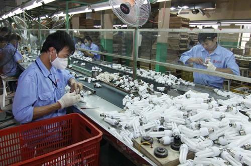 Khí argon sản xuất bóng đèn