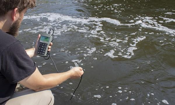 Nồng độ oxy hòa tan trong nước bị giảm