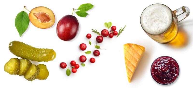 Axit benzoic có trong nhiều loại thực phẩm