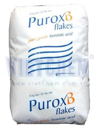 Axit benzoic 98%, bao 25kg tại VietChem