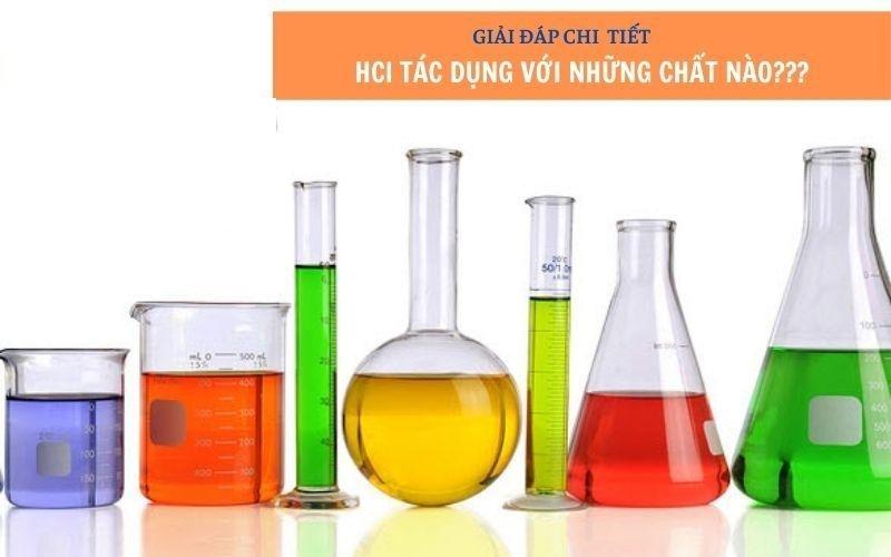 HCl tác dụng với nhiều hợp chất có tính oxi hóa mạnh
