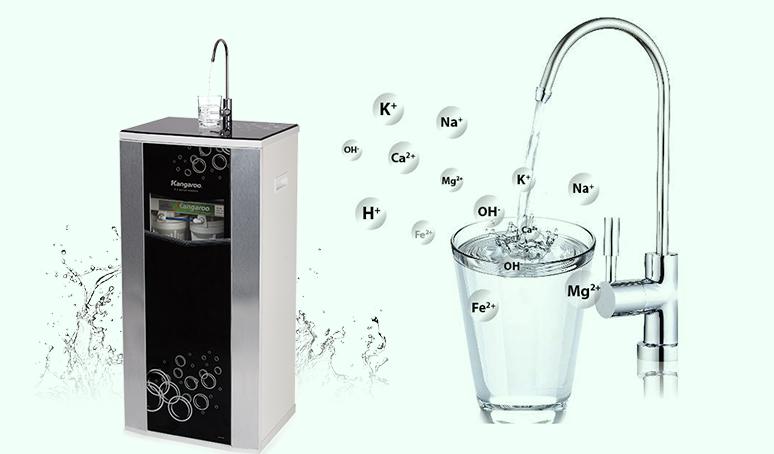 Dùng máy lọc nước RO