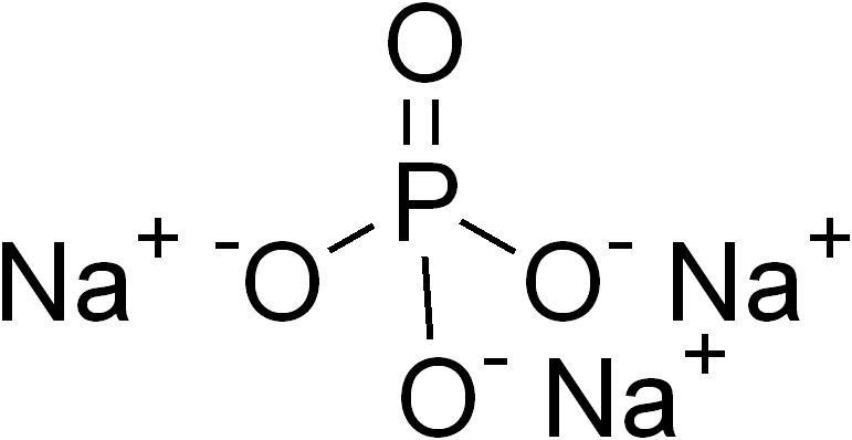 Công thức cấu tạo của Natri photphat