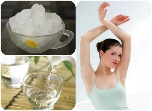 Phèn chua giúp loại bỏ mùi hôi cơ thể