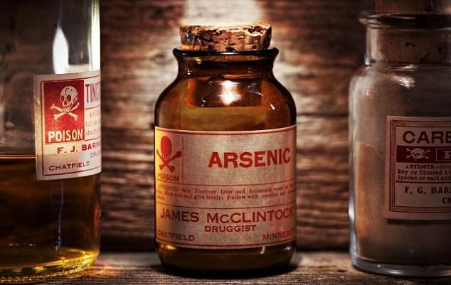 Asen được xếp vào nhóm chất độc nguy hiểm nhất trong danh sách các chất độc gây ung thư