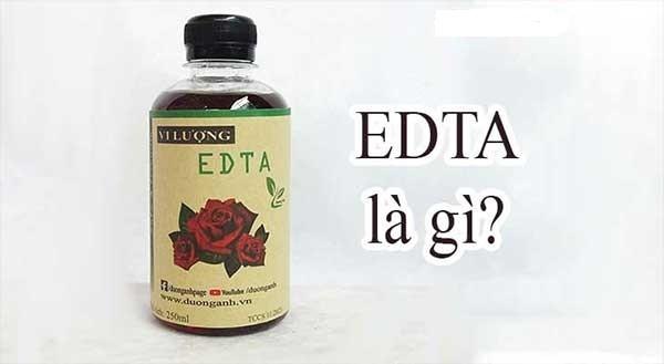 Khái niệm EDTA là gì?