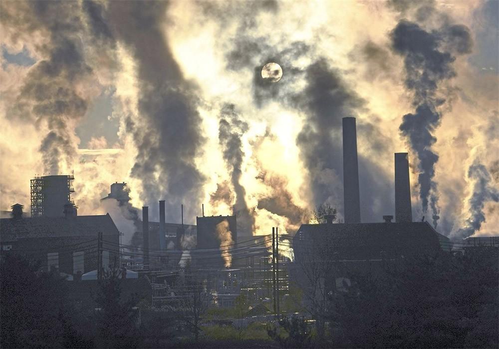 Khí SO2 gây ô nhiễm không khí
