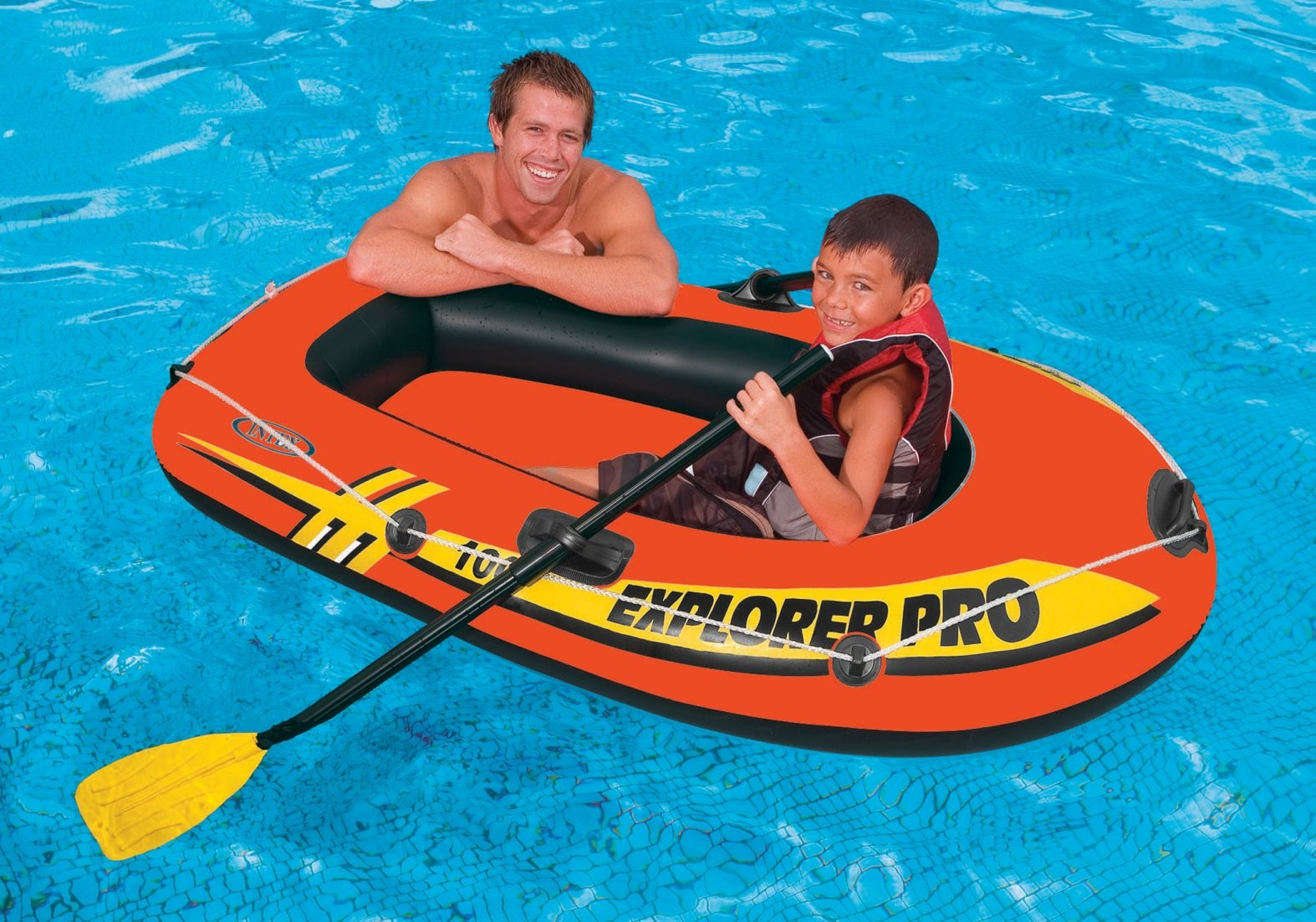 Thuyền bơm hơi trẻ em Explorer PRO 100 INTEX 58355