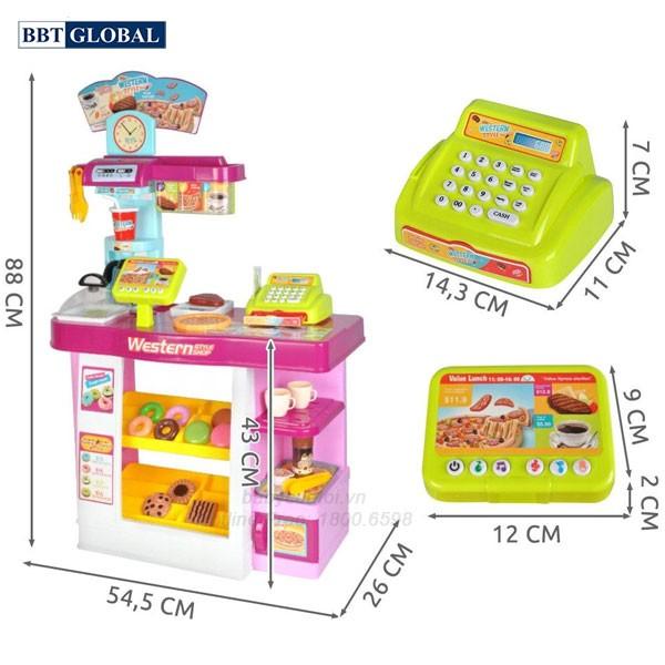 Đồ chơi siêu thị bánh ngọt cao cấp 889-74
