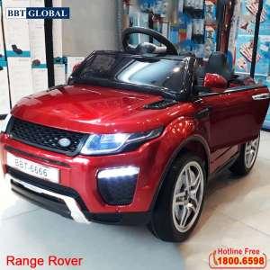 Ô tô điện trẻ em dáng Range Rover sơn đỏ BBT-6666SD
