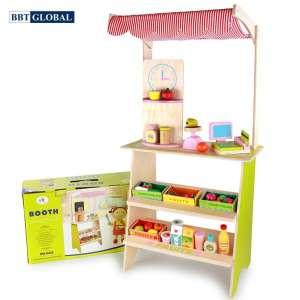 Đồ chơi siêu thị BBT Global bếp gỗ cao cấp MSN15033
