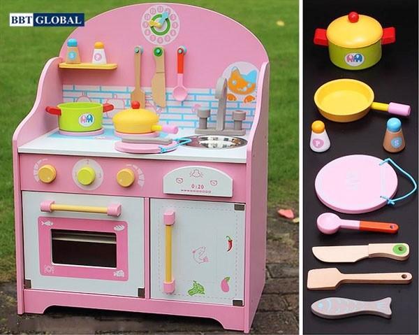 Bộ đồ chơi nấu bếp gỗ MSN17061