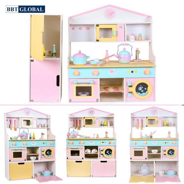 Bộ đồ chơi nhà bếp bằng gỗ cao cấp MSN19031