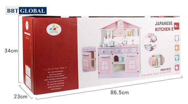 Bộ đồ chơi nhà bếp gỗ cao cấp MSN19032