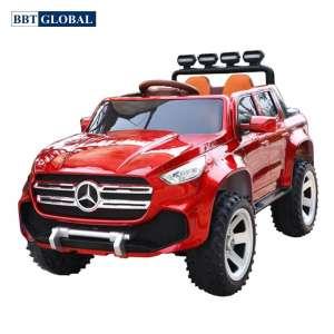 Xe điện trẻ em BBT Global dáng Mercedes sơn đỏ BBT-6688