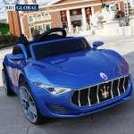 Xe ô tô điện trẻ em Maserati màu xanh BBT-5599XD
